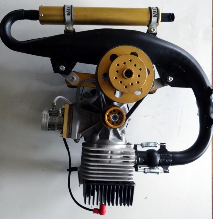 Silnik Motoroma JR180 drugiej generacji